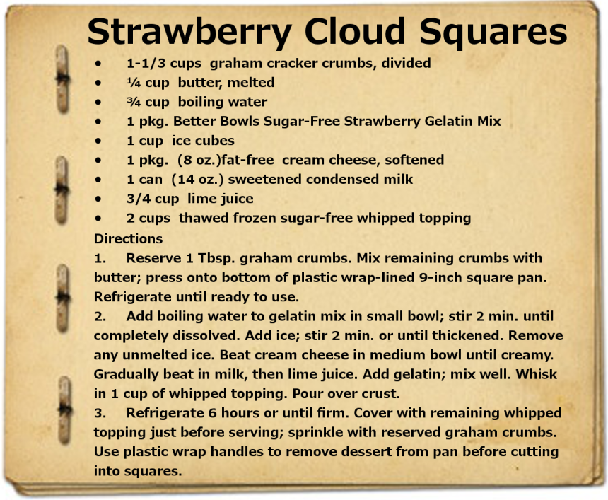 StrawberryCloudSquares