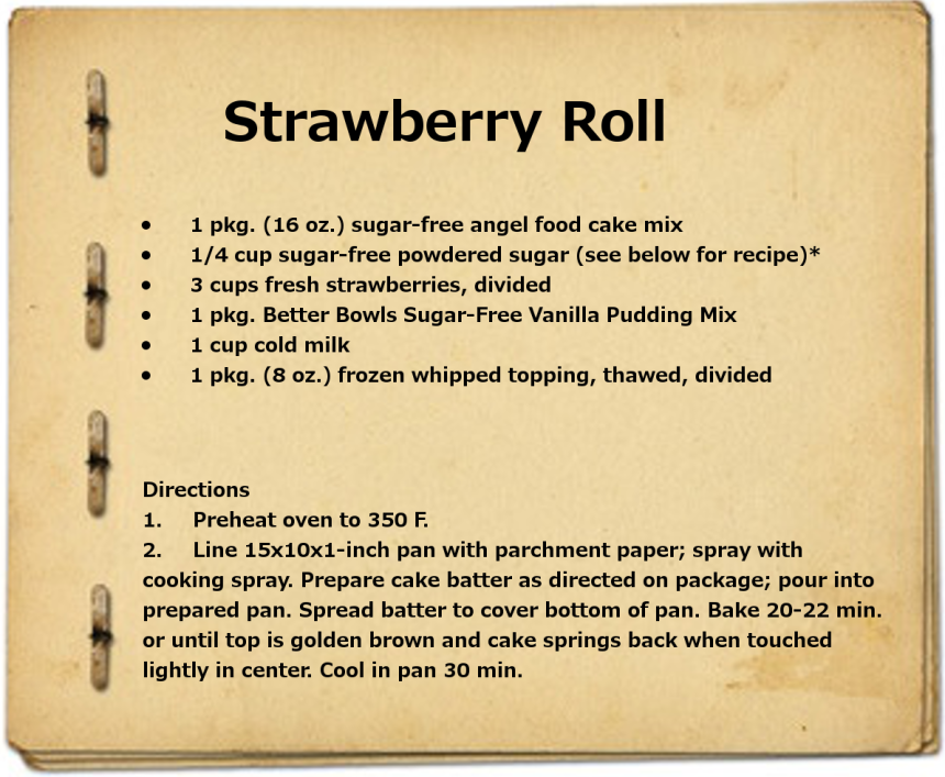 Strawberry Roll